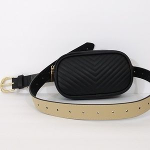 NWT STEVE MADDEN FANNY PACK PURSE ON THE BELT